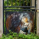 Vitry City Graffiti (©F. Verger/Graffiti : C215)