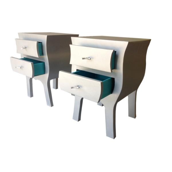 Visite de l atelier d un artisan cartonniste fabrication de meubles en carton tourisme val - Fabrication de meubles en carton ...