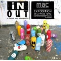 """Découverte en famille de l'exposition """"IN/OUT  Street art et graffiti"""" à la MAC"""