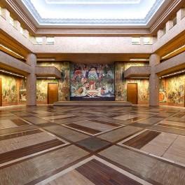 L'architecture art déco du Palais de la Porte Dorée