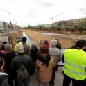 Visite du chantier de réouverture de la Bièvre à L'Haÿ-Les-Roses