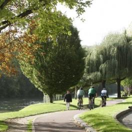 Les bords de Marne à bicyclette