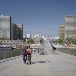 Les nouveaux quartiers de l'Est parisien : autour du Parc de Bercy et de la BNF