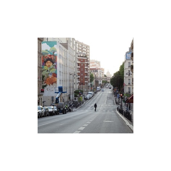 Visite street art et graffiti paris dans le 13 me for Bureau de change 13 arrondissement