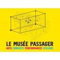 Visite guidée du musée passager, manifestation itinérante d'art contemporain