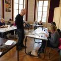 Création d'estampe au musée de Saint-Maur