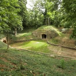 Architecture militaire au fort de Sucy