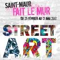Exposition Street art : Saint-Maur fait le mur !