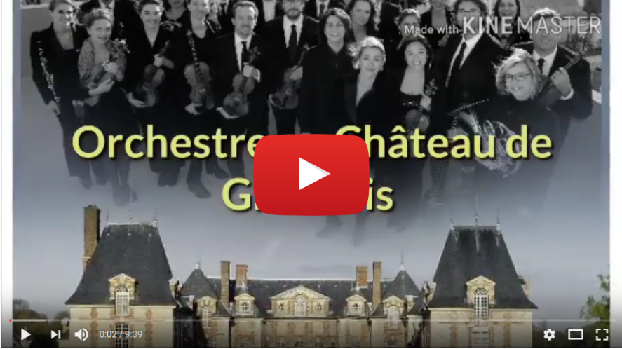 Vidéo Paris Mozart Orchestra