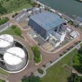 Au coeur d'une centrale thermique EDF de Vitry-sur-Seine