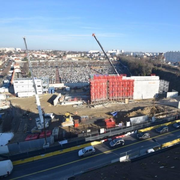 Visite du chantier du grand paris express gare de - Son et video champigny sur marne ...