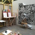 Showroom de l'atelier de Stew et rencontre avec l'artiste