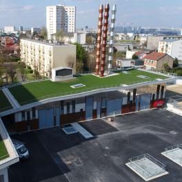 La nouvelle centrale de Géothermie à Villejuif