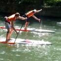 Course conviviale en Stand up paddle