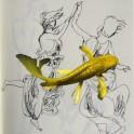 Performance artistique à la Maison d'Art Bernard Anthonioz