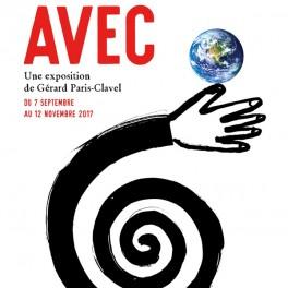 """Rencontres en regard de l'exposition """"Avec"""" de Gérard Paris-Clavel"""