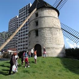 Visite du moulin de la Tour à Ivry