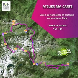 """Atelier IGN """"Ma Carte"""""""