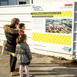 Balade au coeur du chantier de la future gare Vitry Centre du Grand Paris Express