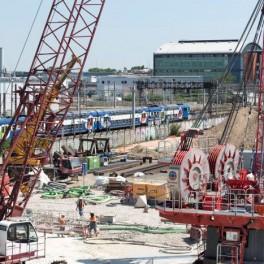 Balade au coeur du chantier de la future gare Vitry Les Ardoines du Grand Paris Express