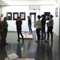 """Visite de l'exposition """"Je suis du bord""""de Patrick Bernier et Olive Martin"""
